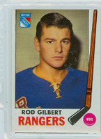 1969-70 Topps Hockey 37 Rod Gilbert New York Rangers Good to Very Good