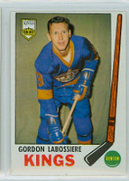 1969-70 Topps Hockey 109 Gord Labossiere Los Angeles Kings Excellent