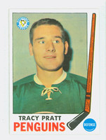 1969-70 Topps Hockey 111 Tracy Pratt Pittsburgh Penguins Excellent to Mint