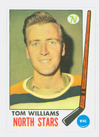 1969-70 Topps Hockey 128 Tom Williams Minnesota North Stars Near-Mint Plus