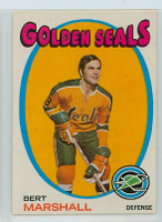 1971-72 OPC Hockey 73 Bert Marshall California Seals Near-Mint
