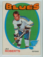 1971-72 OPC Hockey 116 Jim Roberts St. Louis Blues Excellent to Mint