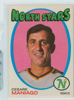 1971-72 OPC Hockey 117 Cesare Maniago Minnesota North Stars Excellent to Mint
