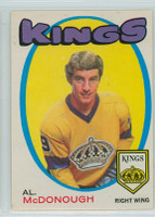 1971-72 OPC Hockey 150 Al Mcdonough Los Angeles Kings Excellent to Excellent Plus