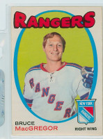 1971-72 OPC Hockey 216 Bruce Macgregor New York Rangers Excellent to Mint