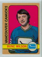 1972-73 OPC Hockey 18 Dunc Wilson Vancouver Canucks Excellent to Mint