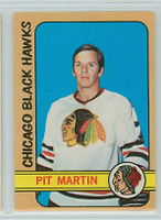 1972-73 OPC Hockey 24 Pit Martin Chicago Black Hawks Excellent to Mint