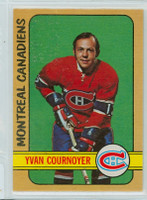 1972-73 OPC Hockey 29 Yvan Cournoyer Montreal Canadiens Near-Mint