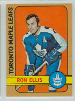 1972-73 OPC Hockey 36 Ron Ellis Toronto Maple Leafs Near-Mint