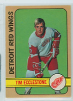 1972-73 OPC Hockey 55 Tim Ecclestone Detroit Red Wings Excellent to Mint