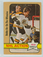 1972-73 OPC Hockey 58 Bobby Orr IA Boston Bruins Excellent