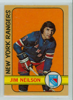 1972-73 OPC Hockey 60 Jim Neilson New York Rangers Near-Mint