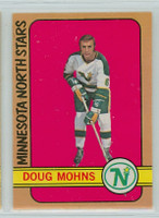 1972-73 OPC Hockey 75 Doug Mohns Minnesota North Stars Near-Mint