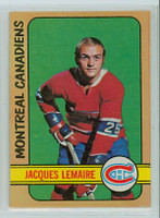 1972-73 OPC Hockey 77 Jacques Lemaire Montreal Canadiens Excellent to Mint
