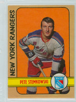 1972-73 OPC Hockey 78 Pete Stemkowski New York Rangers Excellent to Mint
