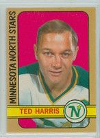 1972-73 OPC Hockey 118 Ted Harris Minnesota North Stars Near-Mint
