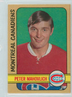 1972-73 OPC Hockey 124 Pete Mahovlich Montreal Canadiens Excellent to Mint