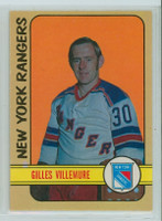 1972-73 OPC Hockey 132 Gilles Villemure New York Rangers Near-Mint