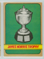 1972-73 OPC Hockey 142 James Norris Trophy Near-Mint