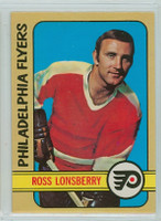 1972-73 OPC Hockey 166 Ross Lonsberry Philadelphia Flyers Near-Mint