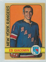 1972-73 OPC Hockey 173 Ed Giacomin New York Rangers Excellent to Mint