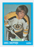 1973-74 Topps Hockey Greg Sheppard Boston Bruins Near-Mint