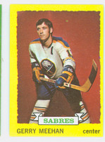 1973-74 Topps Hockey Gerry Meehan Buffalo Sabres Near-Mint