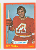 1973-74 Topps Hockey Rey Comeau Atlanta Flames Near-Mint