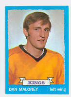 1973-74 Topps Hockey Dan Maloney Los Angeles Kings Near-Mint