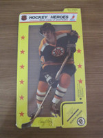 1975 Stand Up Hockey Terry O'Reilly Boston Bruins Near-Mint to Mint