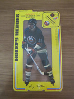 1975 Stand Up Hockey Bryan Trottier New York Islanders Near-Mint to Mint