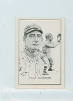 1950 Callahan HOF Roger Bresnahan New York Giants Near-Mint Plus