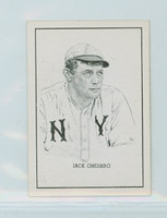 1950 Callahan HOF Jack Chesbro New York Yankees Near-Mint Plus