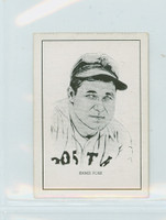 1950 Callahan HOF Jimmie Foxx Boston Red Sox Near-Mint