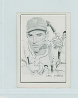 1950 Callahan HOF Carl Hubbell New York Giants Near-Mint