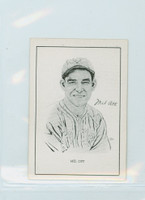 1950 Callahan HOF Mel Ott New York Giants Near-Mint
