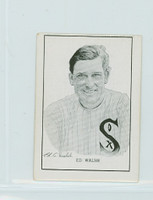 1950 Callahan HOF Ed Walsh Chicago White Sox Excellent