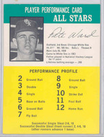 1964 Challenge Yankees 47 Pete Ward Chicago White Sox Excellent to Mint
