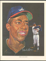 1966 Pure Oil Braves Hank Aaron Atlanta Braves Near-Mint to Mint