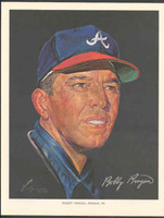1966 Pure Oil Braves Bobby Bragan Atlanta Braves Near-Mint to Mint