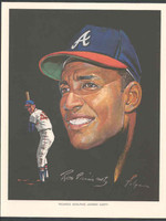 1966 Pure Oil Braves Rico Carty Atlanta Braves Near-Mint to Mint