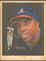 1966 Pure Oil Braves Mack Jones Atlanta Braves Excellent to Mint