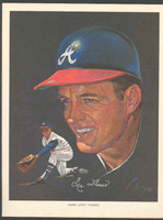 1966 Pure Oil Braves Lee Thomas Atlanta Braves Near-Mint to Mint