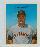 1967 Dexter Press 78 Tom Haller San Francisco Giants Excellent to Mint