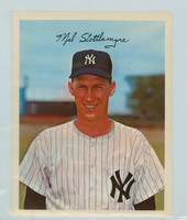 1967 Dexter Press 227 Mel Stottlemyre New York Yankees Excellent to Mint