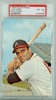 1968 Dexter Press 24 Joe Torre Atlanta Braves PSA 8 Near Mint to Mint