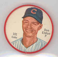 1962 Salada BB Coins 101 Don Elston Chicago Cubs Near-Mint