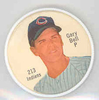 1962 Salada BB Coins 213 Gary Bell High Number Cleveland Indians Near-Mint Plus