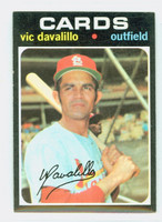 1971 Topps Baseball 4 Vic Davalillo St. Louis Cardinals Near-Mint