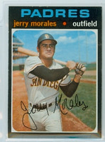 1971 Topps Baseball 696 Jerry Morales High Number San Diego Padres Near-Mint to Mint